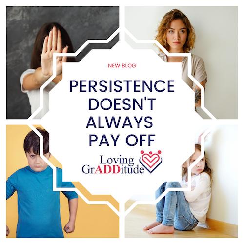 adhd persistence